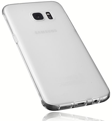 Preisvergleich Produktbild mumbi Schutzhülle für Samsung Galaxy S7 Edge Hülle transparent weiss