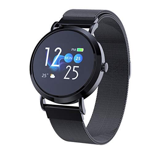 Neubula CV08C Fitness Armband mit Pulsmesser, Wasserdicht IP67 Fitness Tracker Farbbildschirm Fitness Uhr Aktivitätstracker Schrittzähler Uhr Damen Herren Anruf SMS Beachten für iOS Android Handy