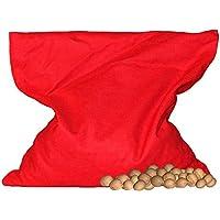 Kirschkern Säckchen/uni rot (24x24 cm) Kirschkernkissen preisvergleich bei billige-tabletten.eu