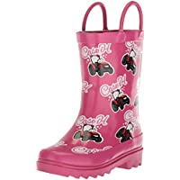 Adtec Baby CI-5002 Rain Boot, Pink, 8 Medium US Toddler