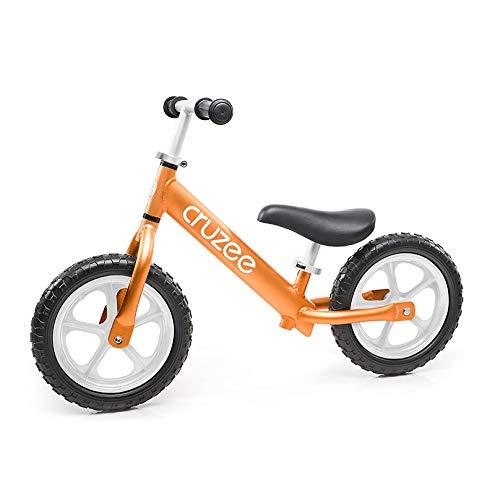 Cruzee Balance Bike (4.4 lbs) für Kinder ab 1,5 bis 5 Jahre (orange) -