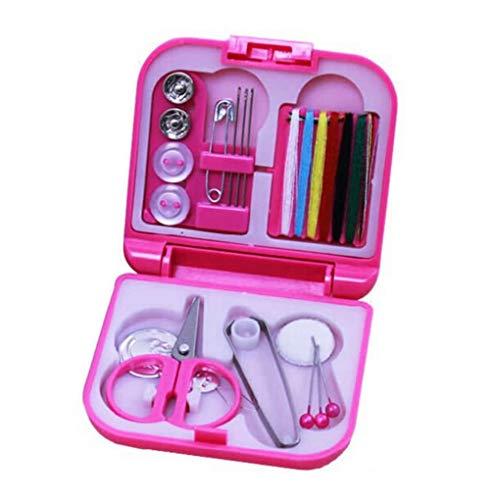 Morza Zufällige Farbe Tragbare Home Reise Kunststoff Nähsets Nähnadeln Themen Box Set Storage Box Nähen Werkzeuge (Storage Box Rv)
