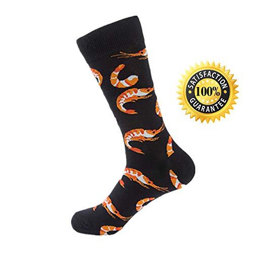 Morbuy Sportsocken Herren Baumwollmischung Meeresfrüchte Dicke Socken halten -