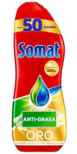 Somat Oro Gel Lavavajillas Antigrasa - 50 Lavados