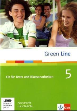 Green Line 5: Fit für Tests und Klassenarbeiten 5, Arbeitsheft und CD-ROM mit Lösungsheft Klasse 9 (Green Line. Bundesausgabe ab 2006) (Tests 5)