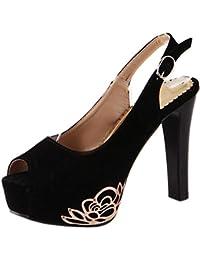 es Amazon Mujer 47 Para Y Tacón De Zapatos ZqOprcvdqW