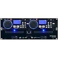 'Pronomic CDJ de 230doble DJ Reproductor de CD con USB & SD (2canales DJ Desk con controlador separado, pitch Bender y DSP de efectos, Seamless Loop, de 19formato)