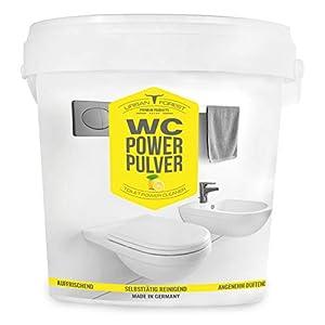 WC Reiniger Schaum   Effektiver WC-Schaum WC Power Pulver mit Zitrus-Frischeduft