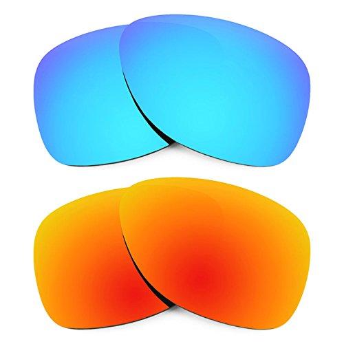 Revant Ersatzlinsen für Oakley Dispatch 2 Polarisiert 2 Paar Kombipack K002