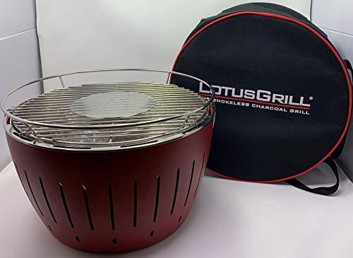 Lotus Grill - Set da gourmet con barbecue, mix di spezie Hallinger Pure FIsh e custodia per il trasporto