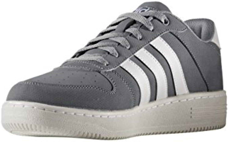 adidas TEAM COURT - Zapatillas deportivas para Hombre, Gris - (GRIS/FTWBLA/FTWBLA) 40 2/3