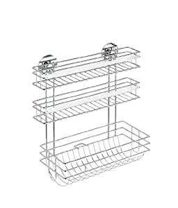 wenko 5630100 turbo loc support essuie tout trio cuisine maison. Black Bedroom Furniture Sets. Home Design Ideas