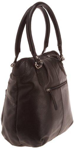 Paquetage  Shopping Hauteur Léon,  Borsa a spalla donna Noir
