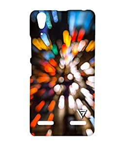 Vogueshell Speed Bokeh Printed Symmetry PRO Series Hard Back Case for Lenovo A6000