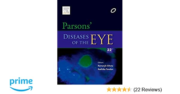 Parsons Book Of Ophthalmology