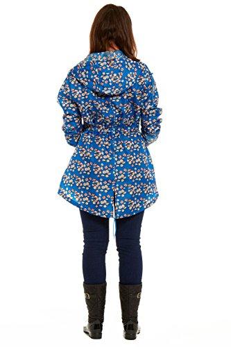 RainyDays Damen Regenmäntel Regenjacke Beach Umbrella - Ella Raincoat