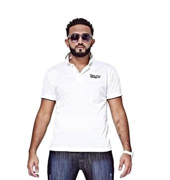Mfaz - Polo Fashion - Couleur : Blanc - Taille : XXL