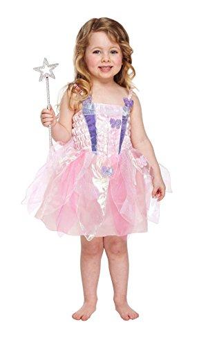 Kleinkind Kostüm Fee - Henbrandt Kostüm für Kleinkinder, Fee, Schmetterlingsmotiv, 2-4 Gr. 2-4 Jahre, Butterfly Toddler Costume