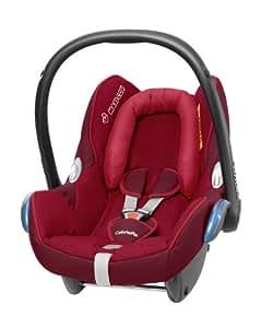 Maxi-Cosi Cabriofix Babyschale Gruppe 0+ (0-13 kg), Kollektion 2014, raspberry red, mit Isofix