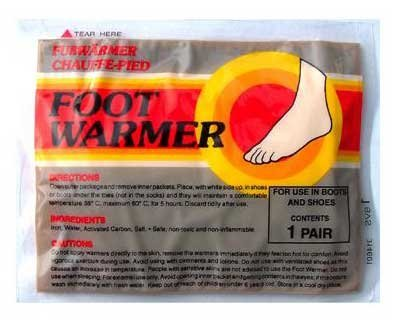 Mycoal instant foot warmers - 6 twin packs