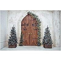 LEDMOMO Fondo de Foto Foto de Fondo de Árbol de Navidad Estudio de Fotografía Prop.