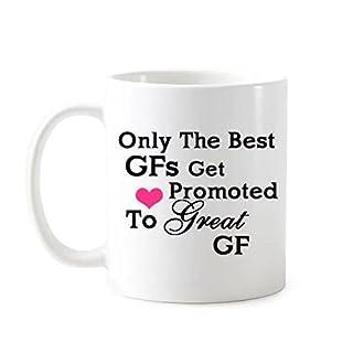 yoshop GFS Geschenke nur die Besten GFS Get gefördert to Tolles GF Tee Becher 313ml 'Kaffee Tasse aus Keramik