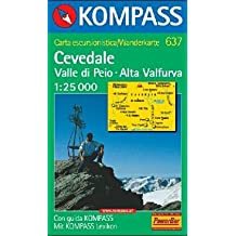 Cevedale, Valle di Peio, Alta Valfurva: Wandern. GPS-genau. 1:25.000