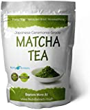 Matcha Powder Tea (65g) Green Tea Powder Japanese Ceremonial Grade - Matcha Powder From Kyoto Uji Japan Farm| Best For Smoothies, Japanese Tea Ceremony, Cleansing Antioxidant weight loss Matcha Green