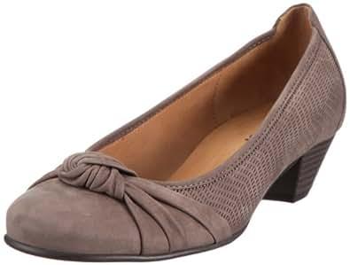 Gabor Shoes 4544113, Damen Pumps, Grau (fumo (gelocht)), EU 35.5 (UK 3)