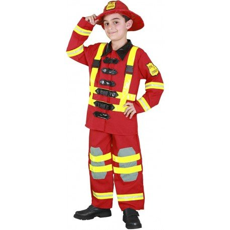 me 10-12 Jahre (Feuerwehrmann Kostüme Boy)
