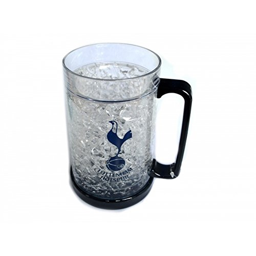 Tottenham Hotspur FC - Jarra de cerveza para congelar (Talla Única/Transparente/Azul Marino)
