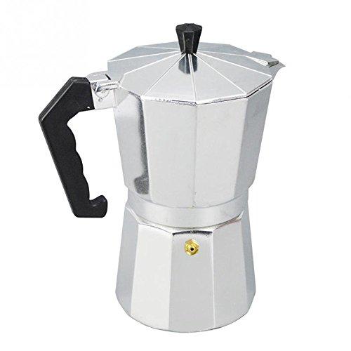 Dealglad Aluminium Stovetop Espresso Maker, Moka Pot Coffee Maker Percolator 414SPagPbGL