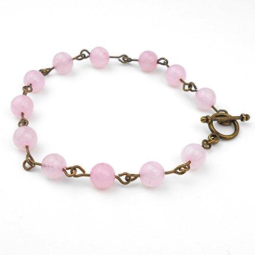 rose-quartz-bracelet-in-antique-bronze-size-medium-8-9-inches