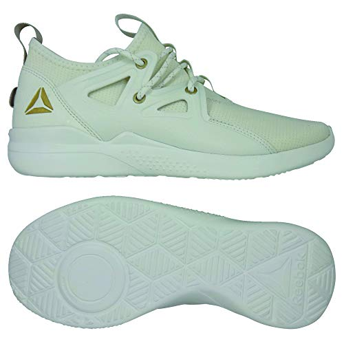 huge selection of 190a8 97c1c Reebok Cardio Motion, Zapatillas de Deporte para Mujer, (Chalk RBK  Brass Light Sand 000), 40 1 3 EU