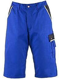 TMG® Pantalones Cortos Cargo para Hombre - Muy Resistentes - Azul