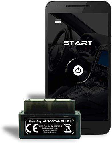 BerryKing BK-AU-BII Autoscan Blue 2019 OBD2 Mini Dispositivo diagnostico Torque Auto Auto Auto Auto Auto Auto OBD 2 Bluetooth Memoria Errore Lettura e cancellazione