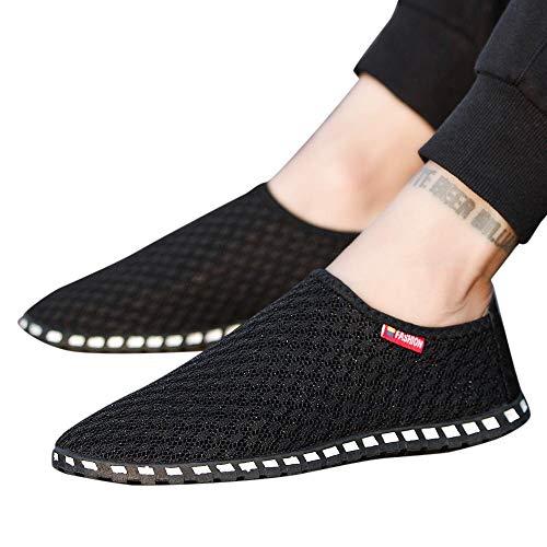 Chaussures de Sports Homme CIELLTE Sneakers Chaussures de Running Baskets Mesh Entraînement Chaussures de Conduite Patchwork sans Lacets