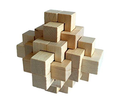 Joyeee® Puzzle En Bois - Brain Teaser Puzzle 3D Casse - #3