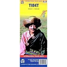 Tibet : 1/1 850 000