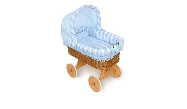 Fabimax bollerwagen stubenwagen xxl emily blau amazon baby