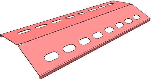 V2A 510mm x 190mm Flammenverteiler Edelstahl-Manufaktur Gasgrill Ersatz-Set/Flammenblech/Grillblech/Brennerabdeckung/Flammenabdeckung/Gasgrill (1-510-190-1)