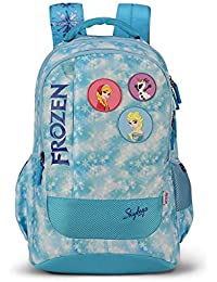 Skybags Sb Frozen 30.4704 Ltrs Blue School Backpack (SBFRO02BLU)
