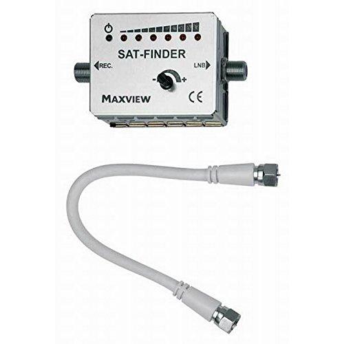 Digital Satellitenfinder von Maxview Omnistat (Einheitsgröße) (Weiß)