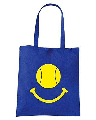 T-Shirtshock - Borsa Shopping OLDENG00821 tennis smile kids Blu Royal