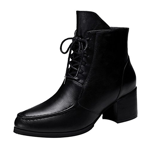 fq-real-balck-friday-womens-new-style-casual-lace-up-block-heel-side-zipper-ankle-booties-45-ukblack