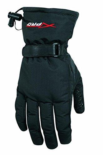 A-pro Motorrad Cordura Gepolsterte Winter Handschuhe Weich Wasserdicht Schwarz XL
