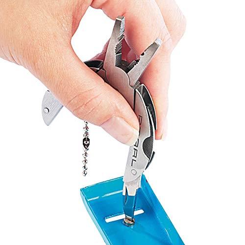 """PEARL Taschenwerkzeug: 9in1 Taschen-Werkzeug-Set """"Pocket Multi-Tool"""" (Mini Tool) - 8"""