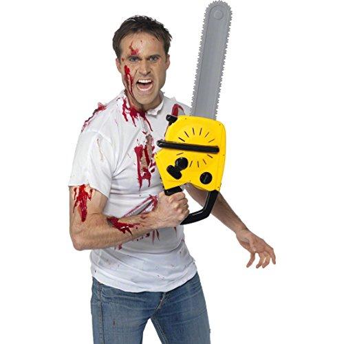 Motosierra de juguete para Halloween accesorios arma disfraz día muertos