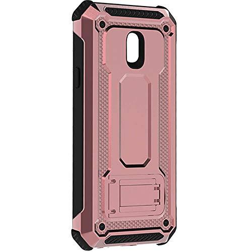 """KUAWEI Custodia per Samsung Galaxy J5 2017 Custodia Cover Case con Kickstand Shockproof Protective Cover 360 Gradi Armatura Resistenza alla Caduta per Galaxy J5 2017 J5 PRO J530 5.2"""" (Oro Rosa)"""
