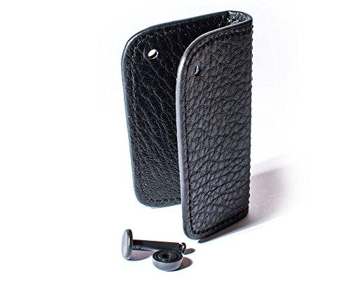 BMW étui Véritable porte-clés Fob en cuir / Cover noir Original 51 21 0 414 778